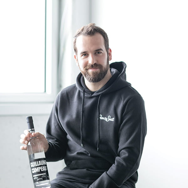 Guillaume, give-a-seat, pur vodka, cocktail, pur entrepreneur, entrepreneur