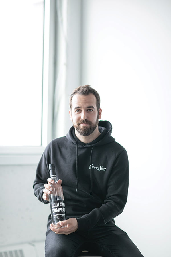 guillaume campeau, give a seat, entrepreneur, pur entrepreneur, cocktail, vodka, pur vodka